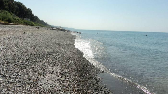 Дикие пляжи Адлера