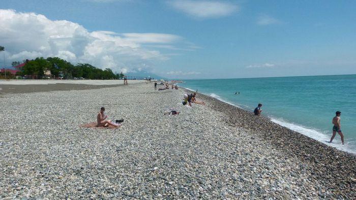 Один из пляжей Адлерского района