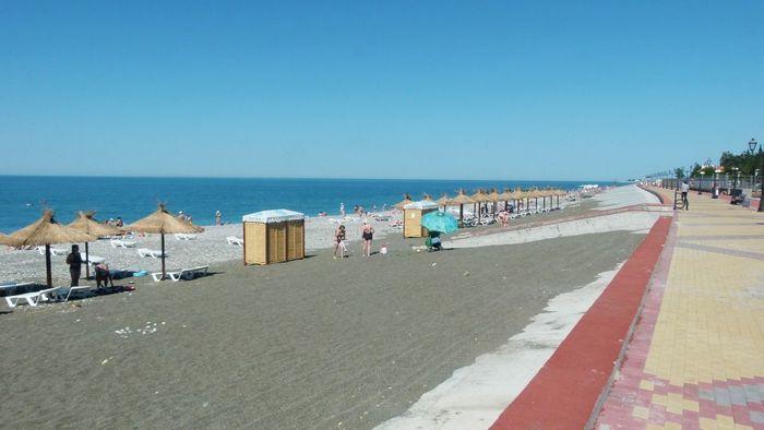 Пляж Олимпийского парка