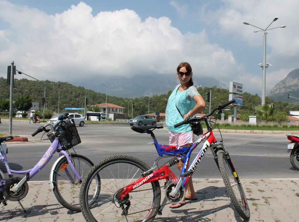 Прокат велосипеда в Кемере