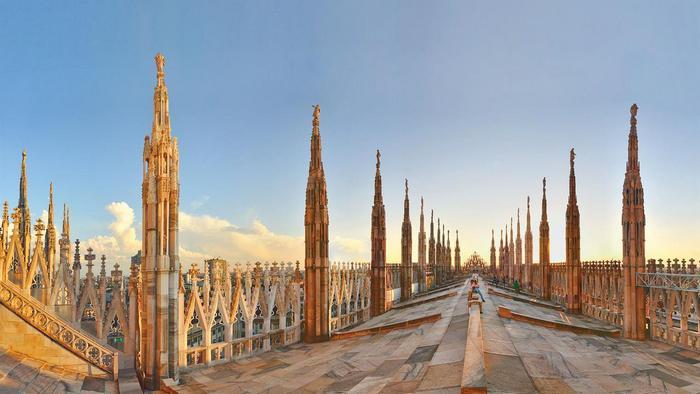 Смотровая площадка на крыше собора