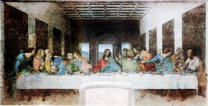 """Тайная вечеря"" Леонардо да Винчи"