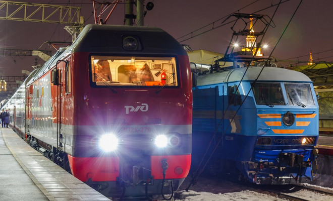 Поезда Санкт-Петербурге