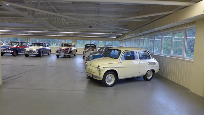 Коллекция автомобилей в Межигорье