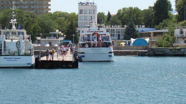 Морской порт Анапы