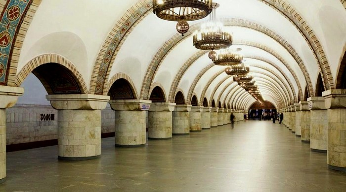 """Станция метро """"Золотые ворота"""""""