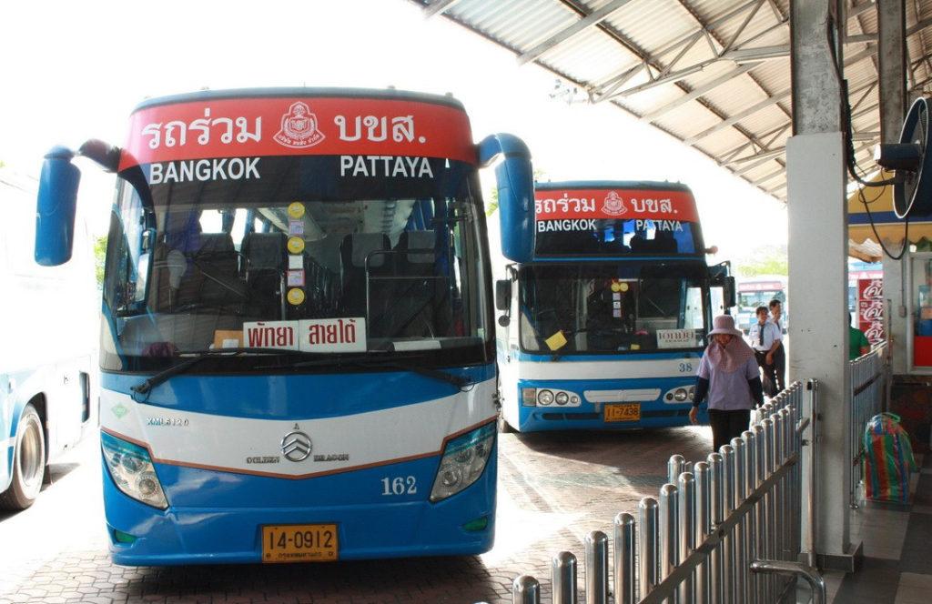 Автобусы Бангкок-Паттайя