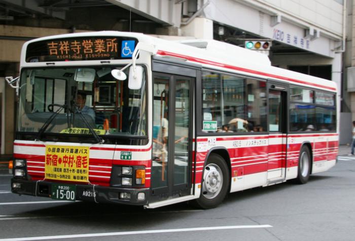 Автобус в ТокиоАвтобус в Токио