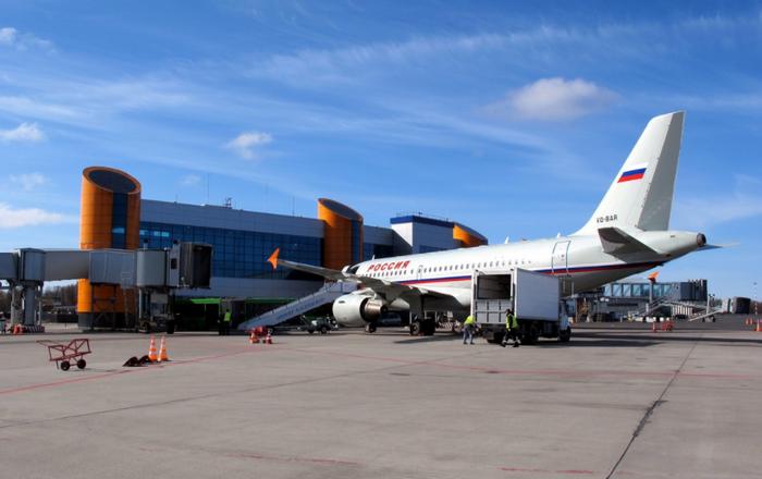 Аеропорт в Храброво