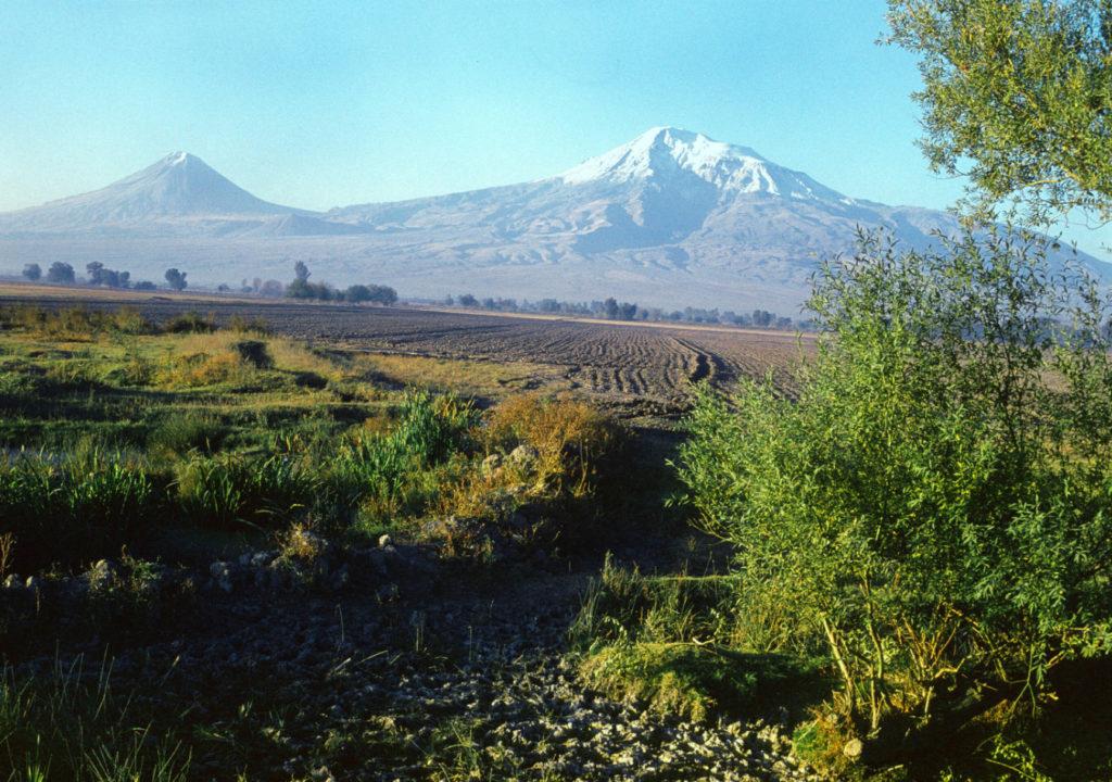 Араратская долина в Армении