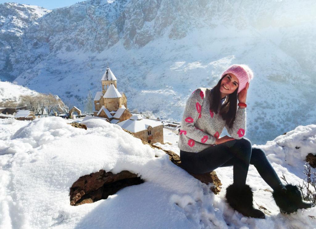 Армения зимой