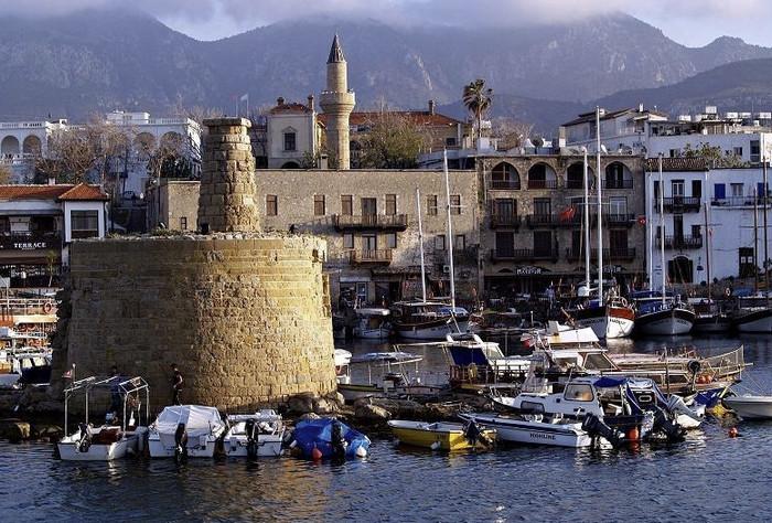 Древний город Пафос на Кипре