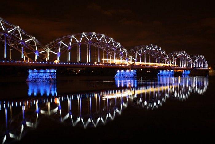 Железнодорожный мост Риги