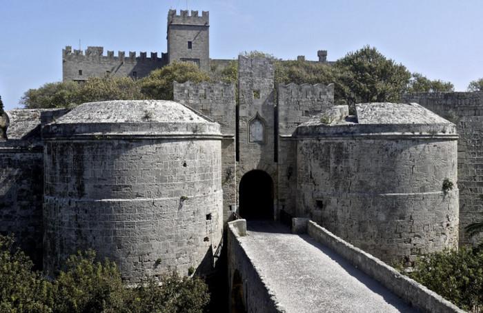 Замок рыцарей, Родос