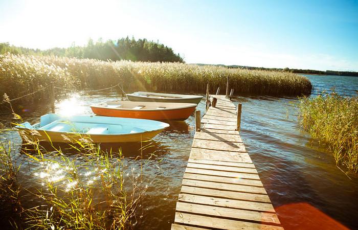 Купальный сезон в Финляндии