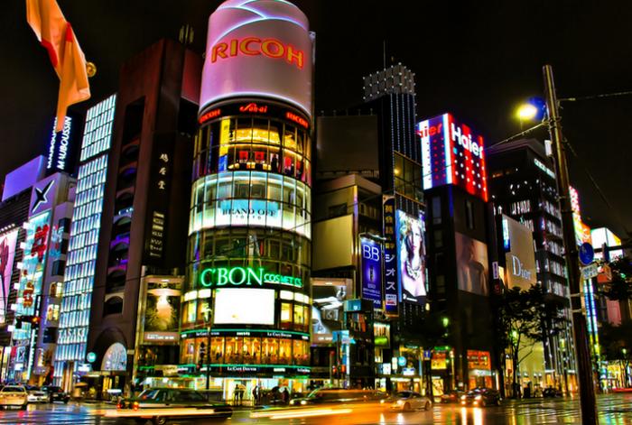 Магазины в районе Синдзюку