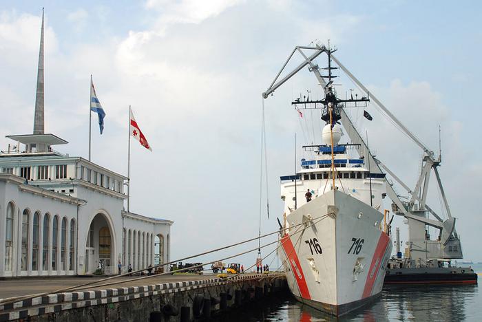 Морской вокзал в Батуми