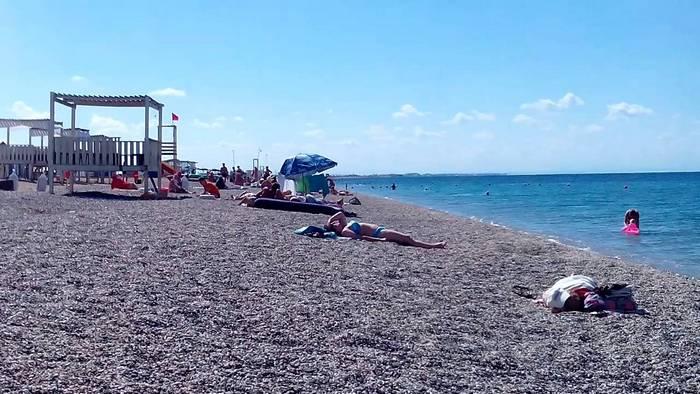 Новый пляж