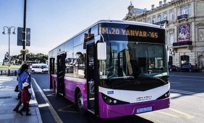 Общественный транспорт в Баку