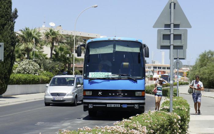Общественный транспорт на Кипре