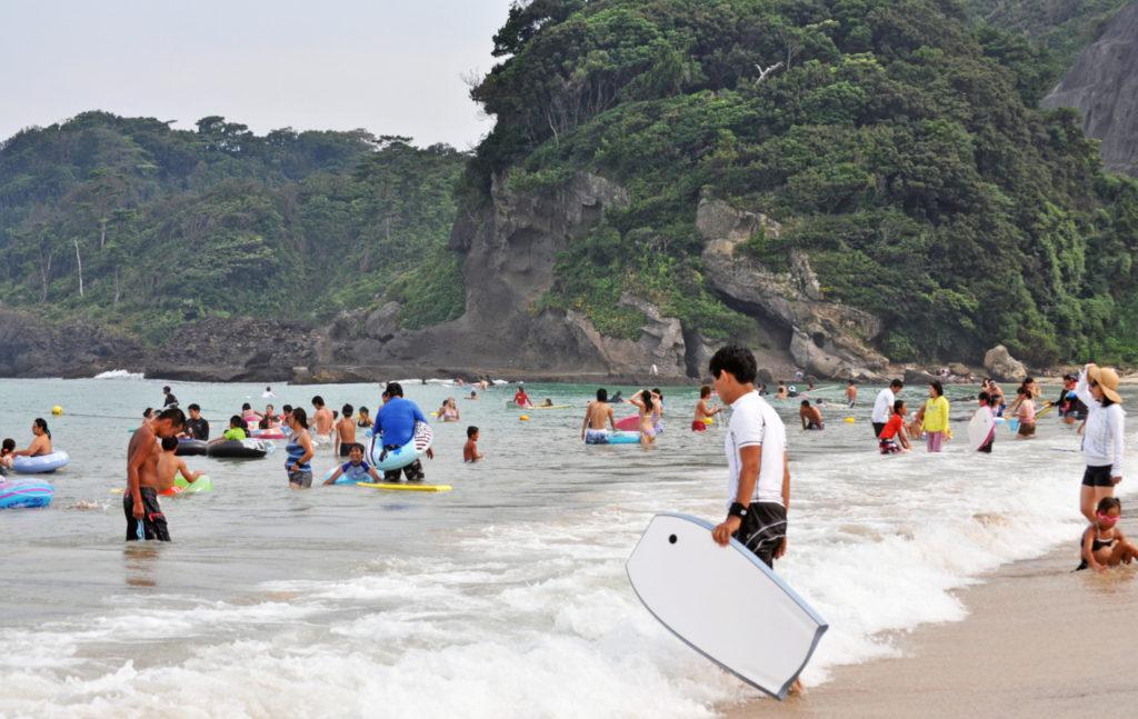 Пляжи Японии