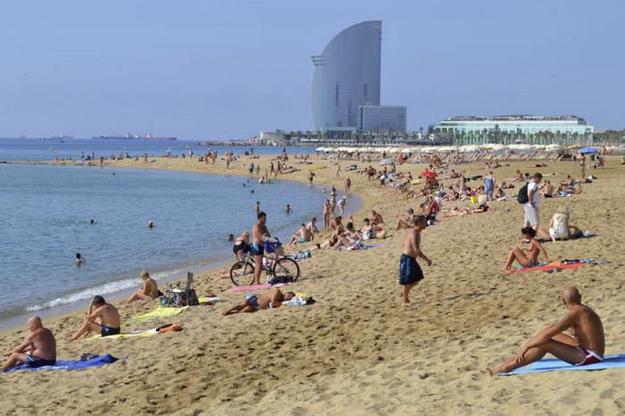 Пляжи города Баку
