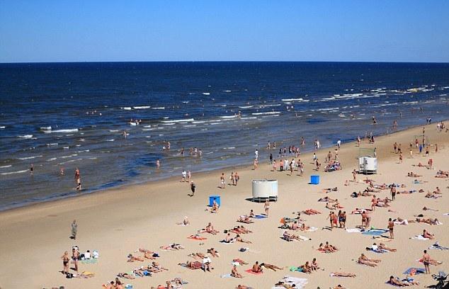 Пляжи в окрестностях Риги