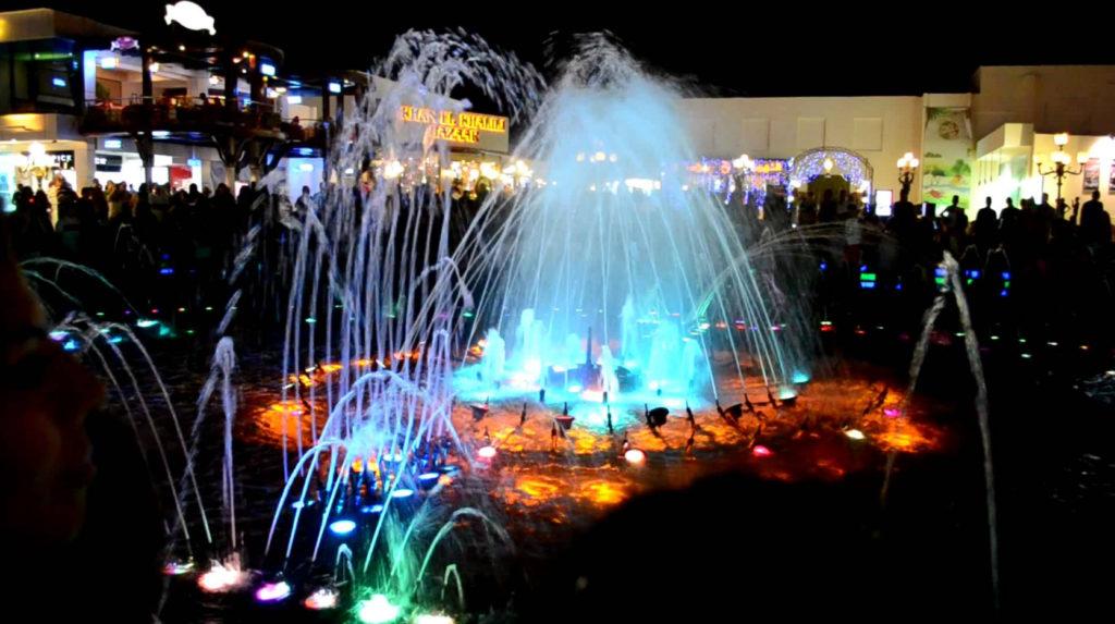 Поющий фонтан Soho Square, Египет