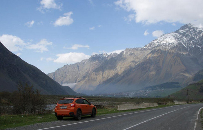 Путешествие в Грузию на автомобиле