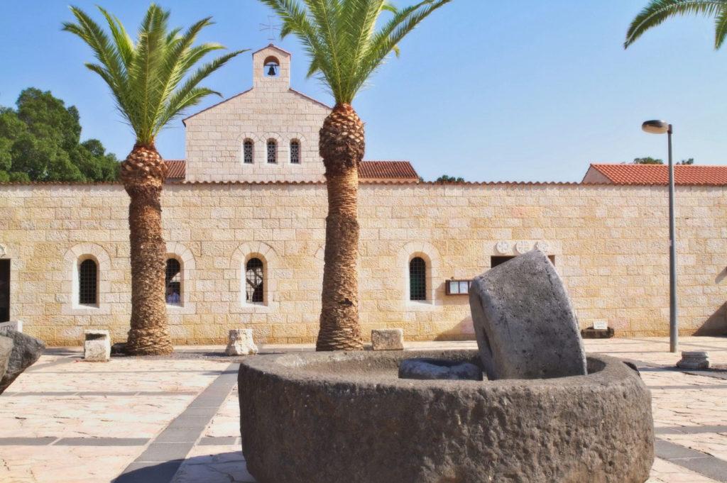 Табха. Церковь Умножения Хлебов и Рыб. Израиль