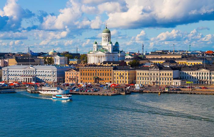 Финляндия. Панорама Хельсинки
