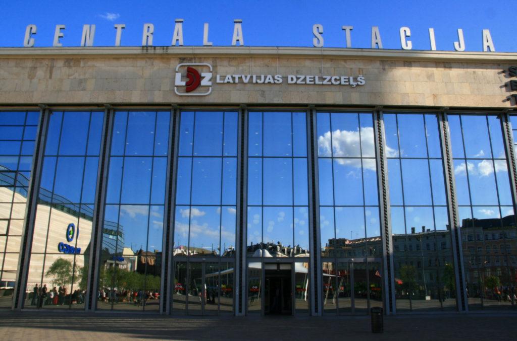 Центральный вокзал Риги