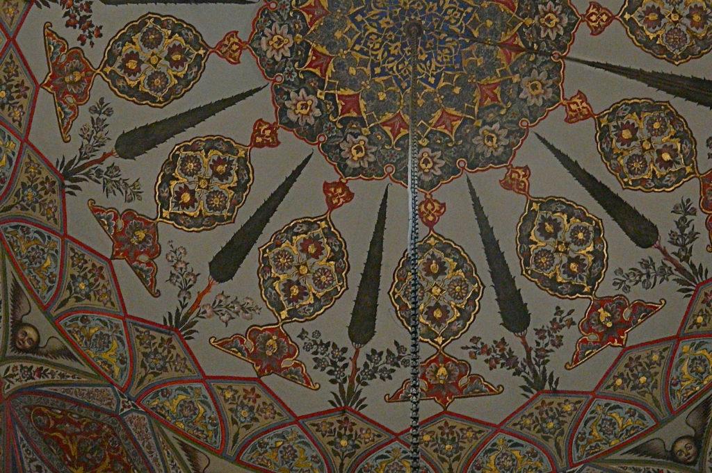 Эчмиадзинский кафедральный собор, фрески