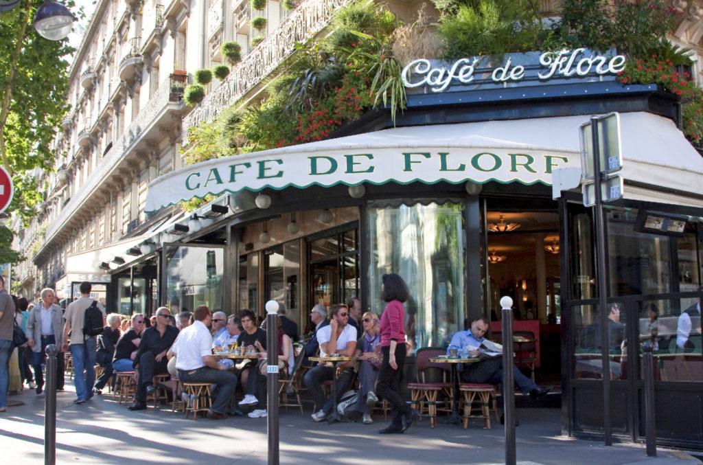 Cafe de Flore, Париж