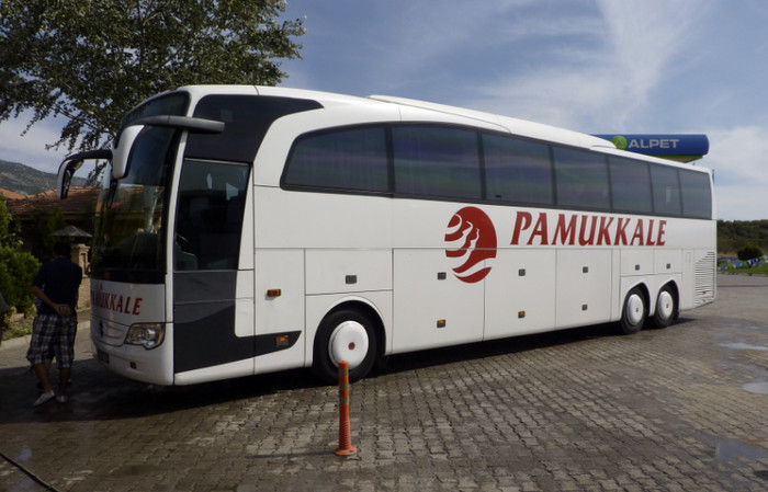 Автобус до Памуккале