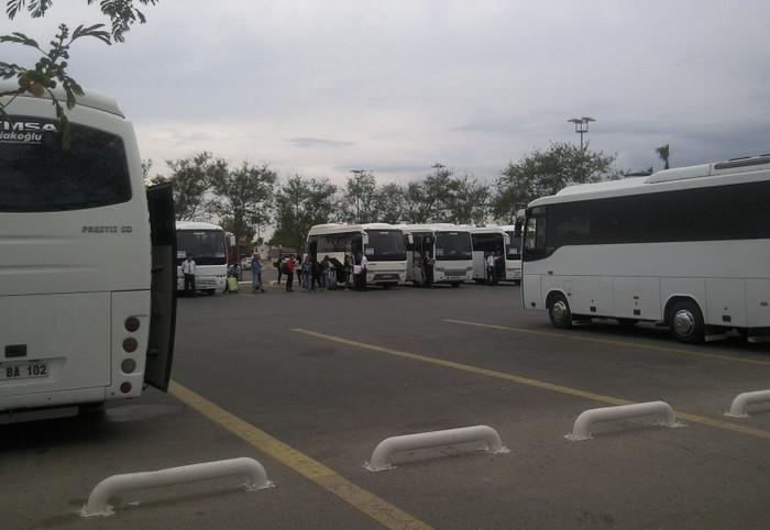Автовокзал в Белеке
