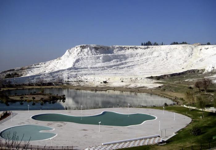Белая гора Памуккале