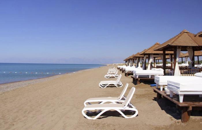 Пляжи Берека