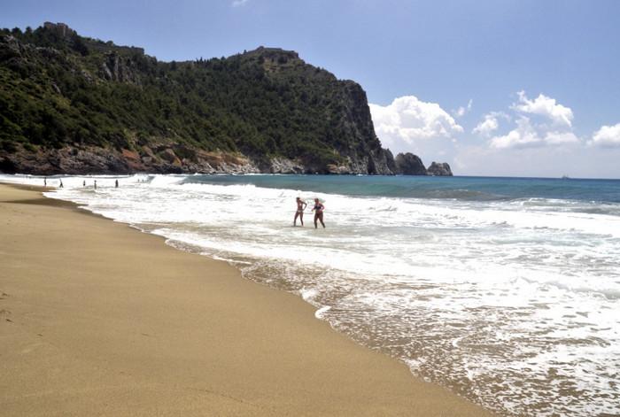 Пляж Клеопатры, Аланья
