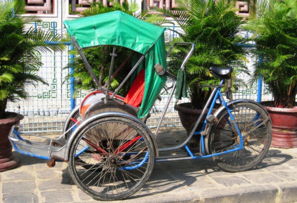 Велорикши, остров Хайнань