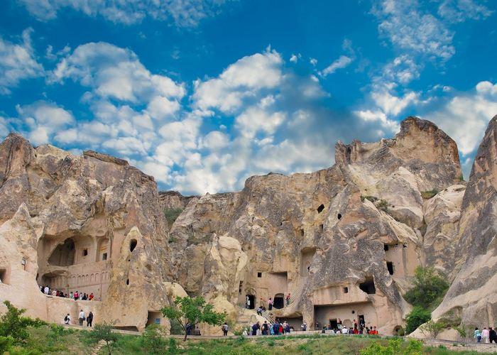 Пещерные церкви в Гёреме