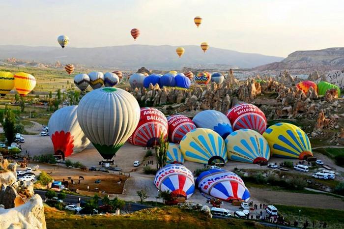 Полеты на воздушных шарах над Каппадокией