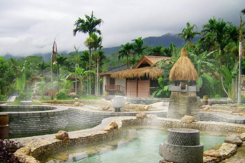 Термальные источники, остров Хайнань