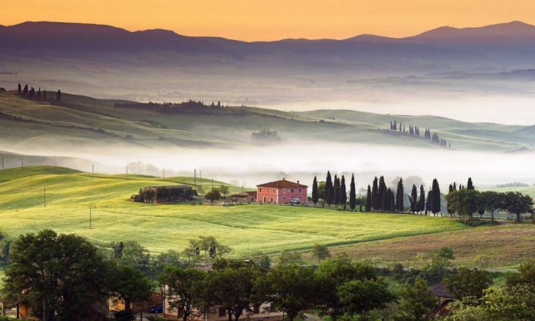 Живописная Тоскана
