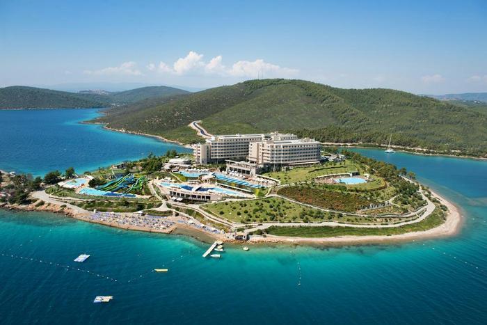 Отель La Blanche Island Bodrum