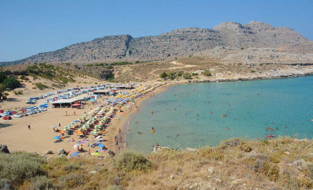 Пляж Агия Агати
