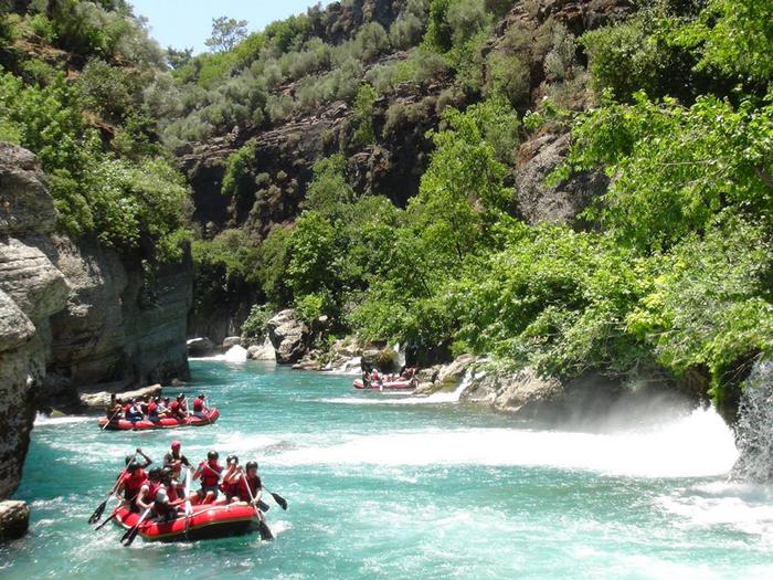 Рафтинг по реке Даламан