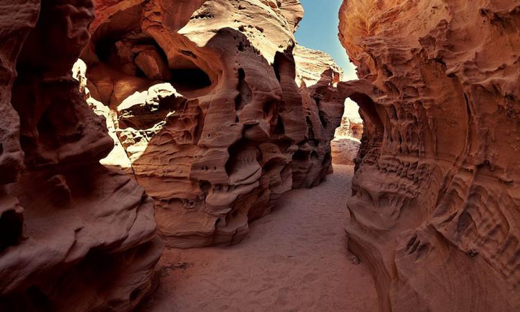 Цветной каньон, г. Нувейба