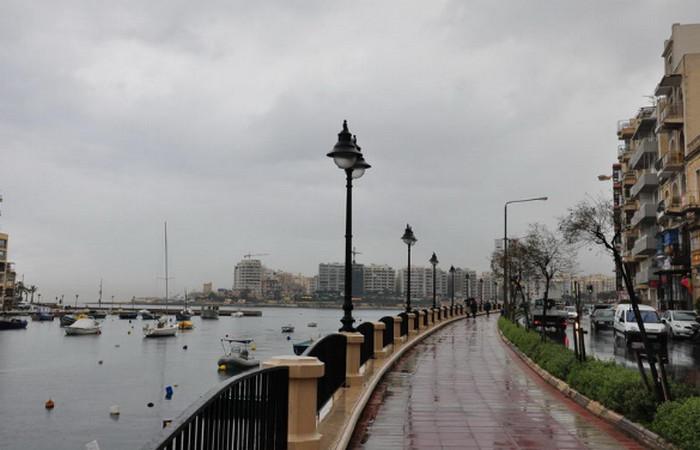 Мальта зимой