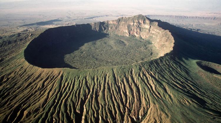 Вулкан Нгоронгоро